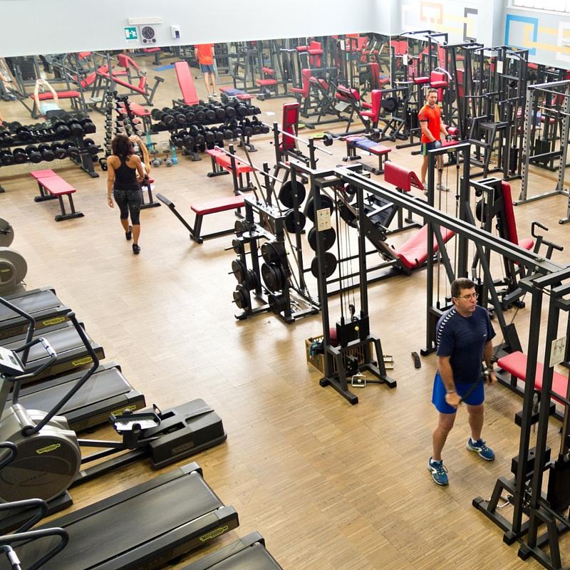 La sala pesi